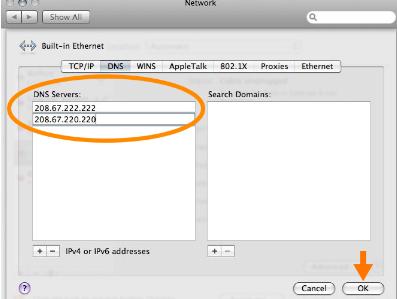Mac OS X DNS
