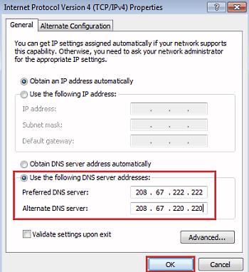 Preferred DNS Server