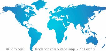 fandango.com outage map