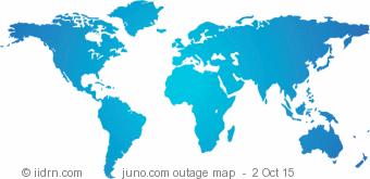 juno.com outage map
