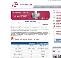 000webhost.com screenshot