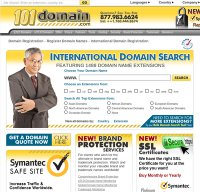 101domain.com screenshot