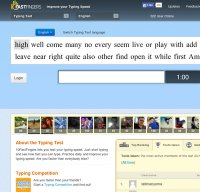 10fastfingers.com screenshot