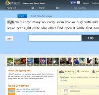 10fastfingers.com screenshot