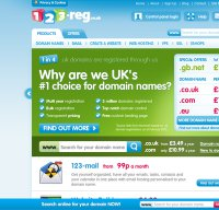 123-reg.co.uk screenshot