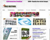 123freevectors.com screenshot