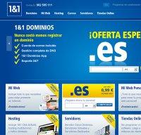 1and1.es screenshot