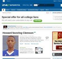 247sports.com screenshot