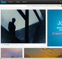 500px.com screenshot