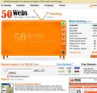 50webs.com screenshot