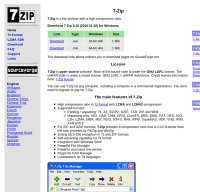 7-zip.org screenshot
