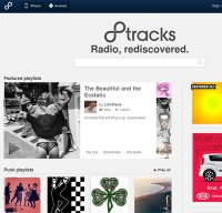 8tracks.com screenshot