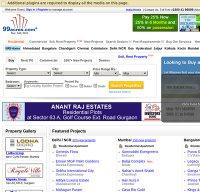 99acres.com screenshot