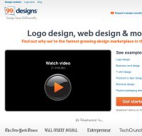 99designs.com screenshot