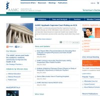 aamc.org screenshot