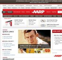 aarp.org screenshot