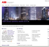 abb.com screenshot