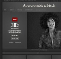 abercrombie.com screenshot