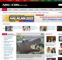 abs-cbnnews.com screenshot