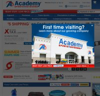 academy.com screenshot