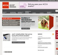 accaglobal.com screenshot