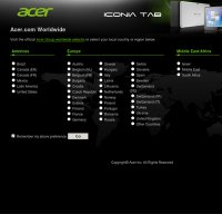 acer.com screenshot