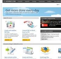 acrobat.com screenshot