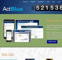actblue.com screenshot