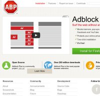 adblockplus.org screenshot
