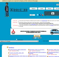 addic7ed.com screenshot