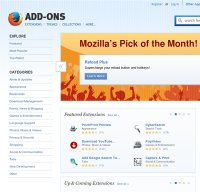 addons.mozilla.org screenshot