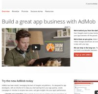 admob.com screenshot