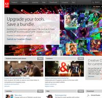 adobe.com screenshot