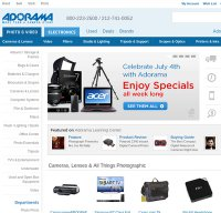 adorama.com screenshot