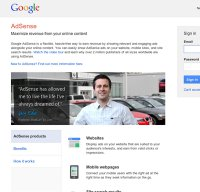 adsense.google.com screenshot