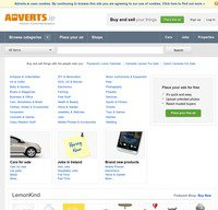 adverts.ie screenshot