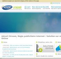 advertstream.com screenshot