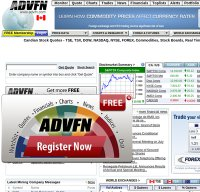 advfn.com screenshot