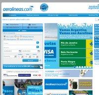 aerolineas.com.ar screenshot
