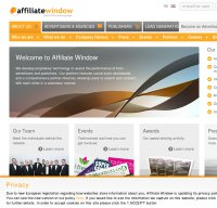 affiliatewindow.com screenshot