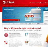 afrihost.com screenshot