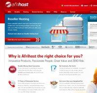 afrihost.com screenshot