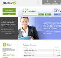 afternic.com screenshot