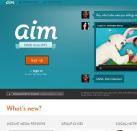 aim.com screenshot
