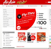 airasia.com screenshot