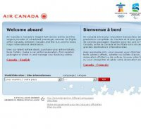 aircanada.com screenshot
