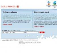 aircanada.com screenshot