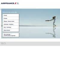 airfrance.com screenshot