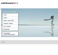 airfrance.com screenshot