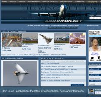 airliners.net screenshot